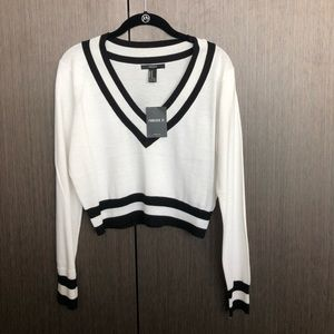 Sweaters - Forever 21 cropped sweater